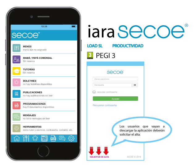 logo app secoe