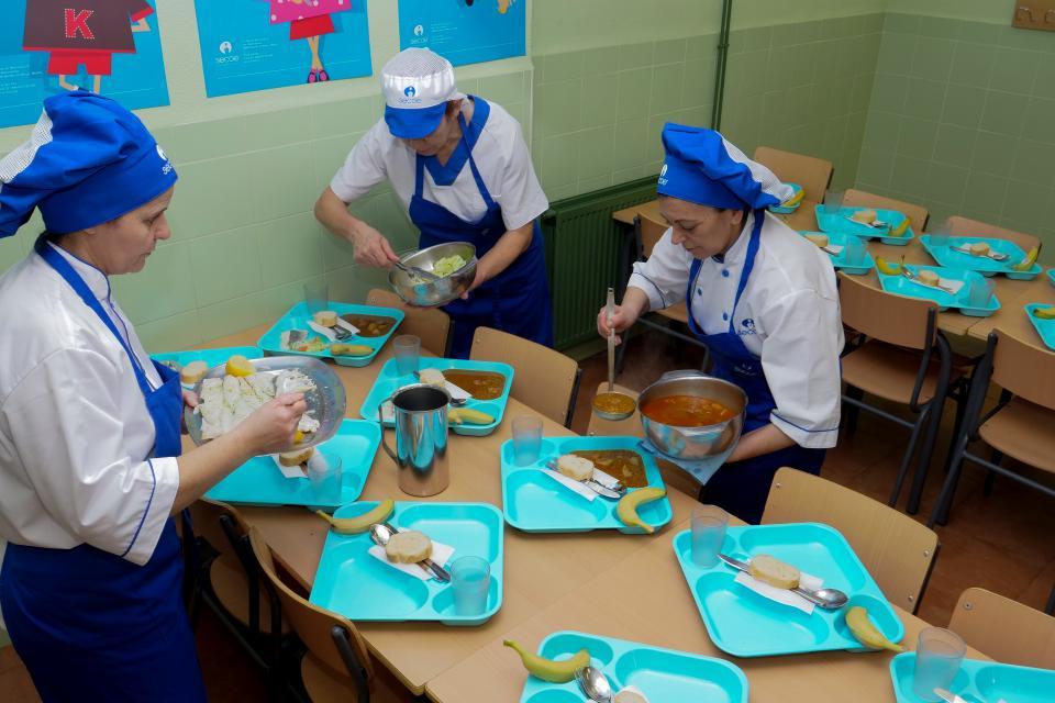 Empresa de restauración colectiva para comedores escolares ...