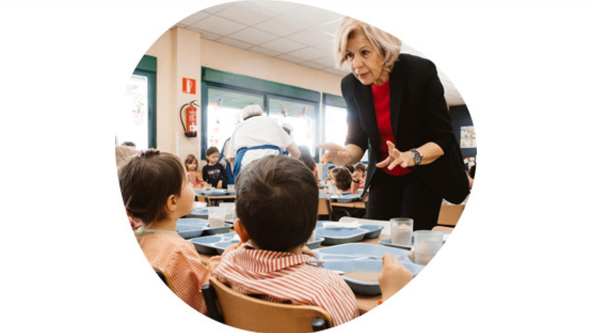 Servicios restauración para comedores escolares en Madrid ...